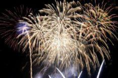 ハーベストの丘 夏の花火イベント